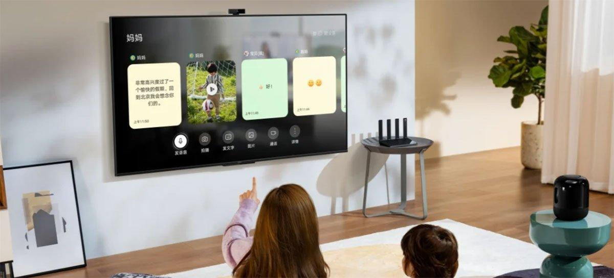 أطلقت هواوي تلفزيون ذكي Smart Screen SE مع شاشة 4K ونظام HarmonyOS 2.0 1