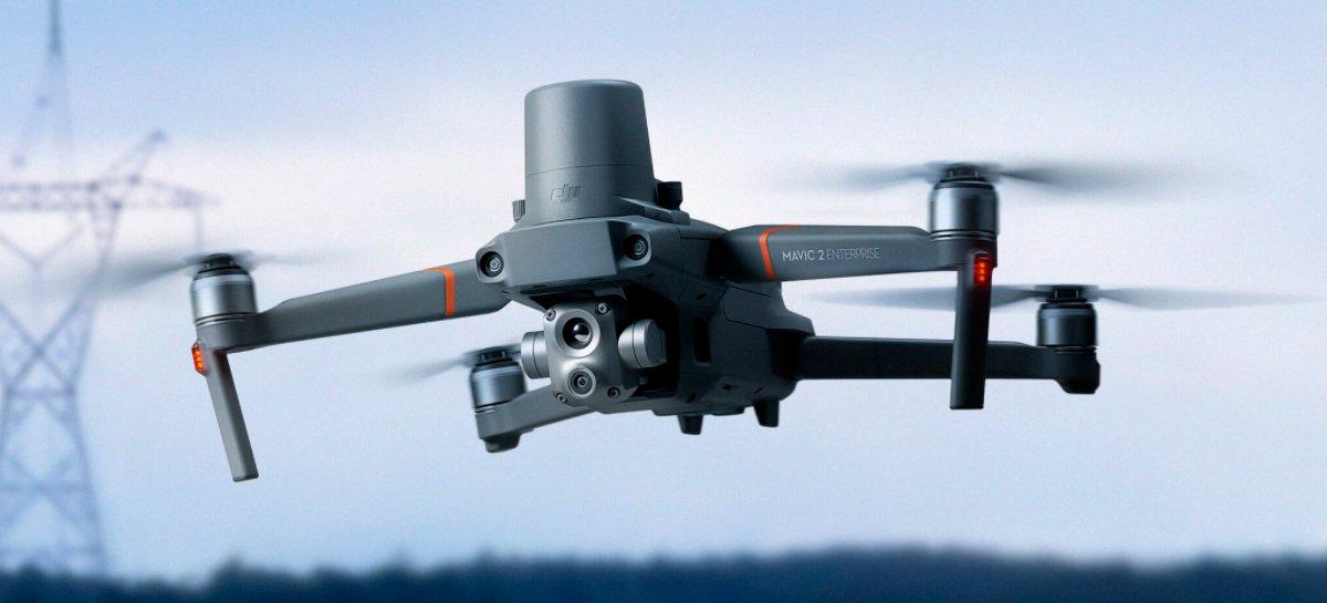 أطلقت DJI طائرة بدون طيار Mavic 2 Enterprise Advanced مع كاميرا حرارية جديدة وتقريب 32x 1