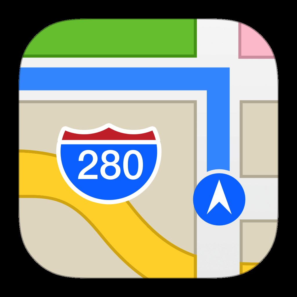 Apple  الخرائط - أفضل تطبيقات GPS لأجهزة iPhone