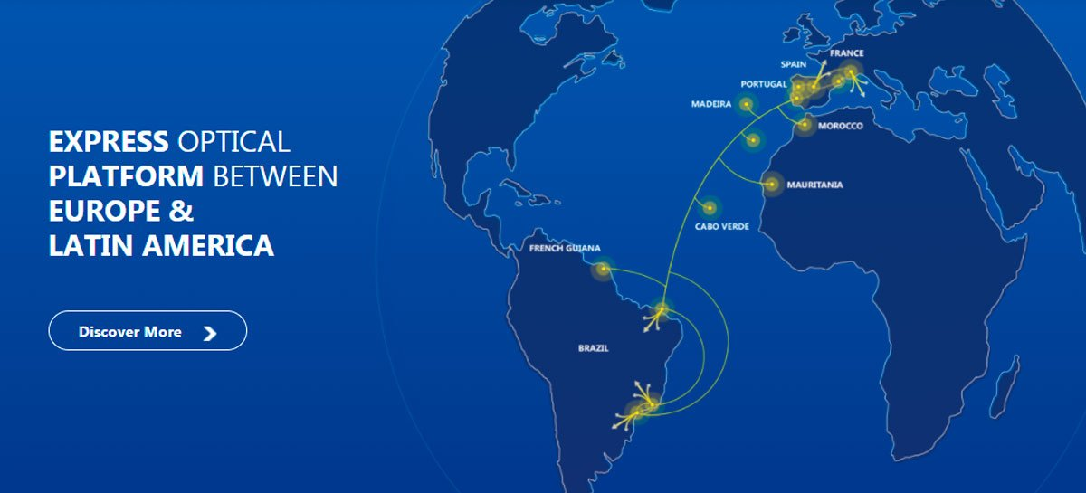 افتتاح الألياف الضوئية التي تربط البرازيل وأوروبا 1