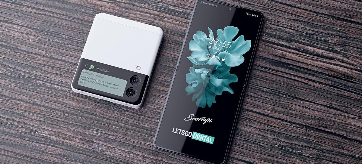 انظر إلى مفهوم الفن الجديد Galaxy ض Fold 3 و Galaxy Z Flip 3 1