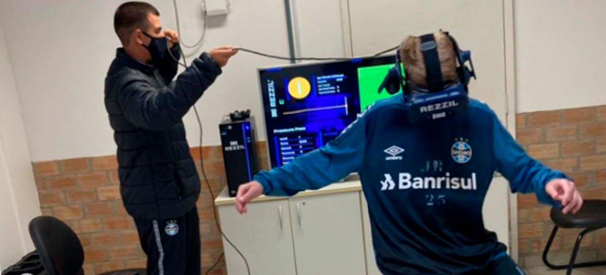 بدأ Grêmio في استخدام نظارات الواقع الافتراضي في التدريب 1