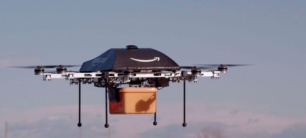 براءة اختراع Amazon يشير إلى تطوير الطائرات بدون طيار التي تفهم الإيماءات البشرية 1