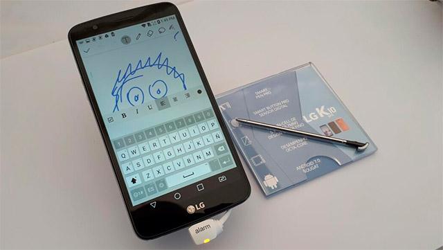 تحديثات LG smartphones K10 وتطلق الموديلات الجديدة LG K10 Pro و LG K10 Power 1