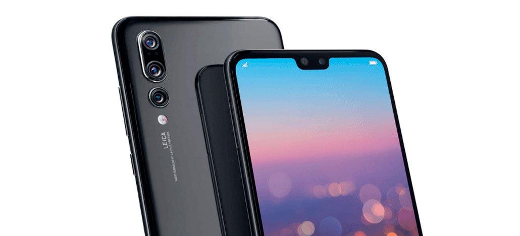 تضع Huawei شاحنات إعلانات الهواتف الذكية P20 أمام المتاجر. Apple وسامسونغ 1