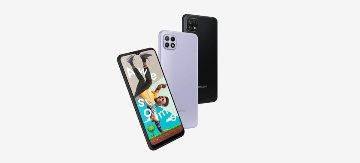 تعلن سامسونج عن smartphones Galaxy  A22 5G و Galaxy أ 22 1