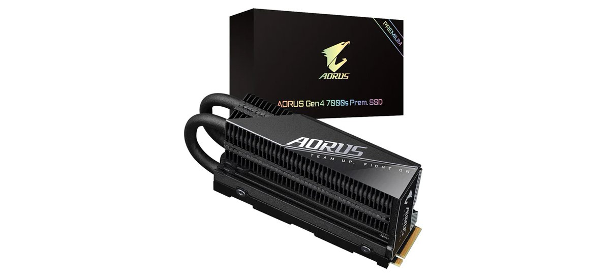 تعلن شركة Gigabyte عن إصدار AORUS Gen4 7000s Premium SSD بسرعات تصل إلى 7000 ميجابايت / ثانية 1