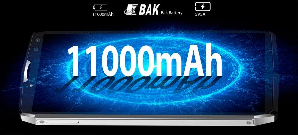 تعلن Blackview عن هاتف ذكي P10000 Pro مزود ببطارية مذهلة تبلغ 11000 مللي أمبير في الساعة 1