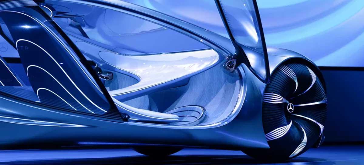 تقدم مرسيدس-بنز Vision AVTR ، سيارة المستقبل المستوحاة من فيلم Avatar 1