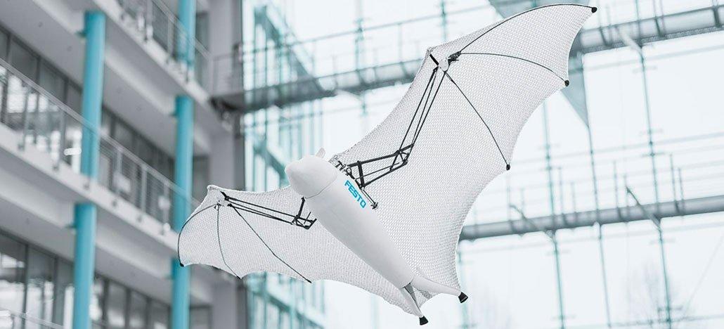تقدم Festo Bionic طائرة Flying Fox بدون طيار على شكل خفاش 1