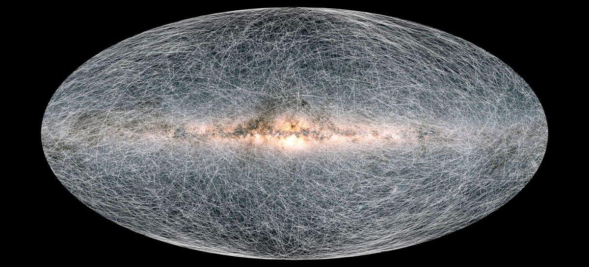 تمكن علماء الفلك من تطوير الخريطة ثلاثية الأبعاد الأكثر تفصيلاً لمجرة درب التبانة في التاريخ 1