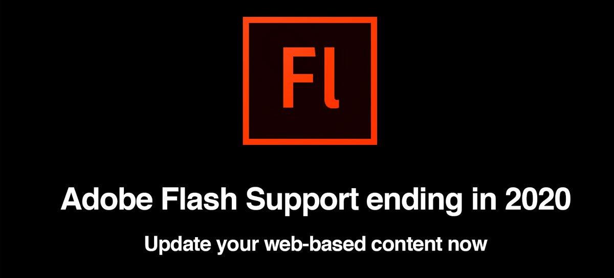 ذهب دعم Adobe Flash Player - انظر ماذا يحدث 1