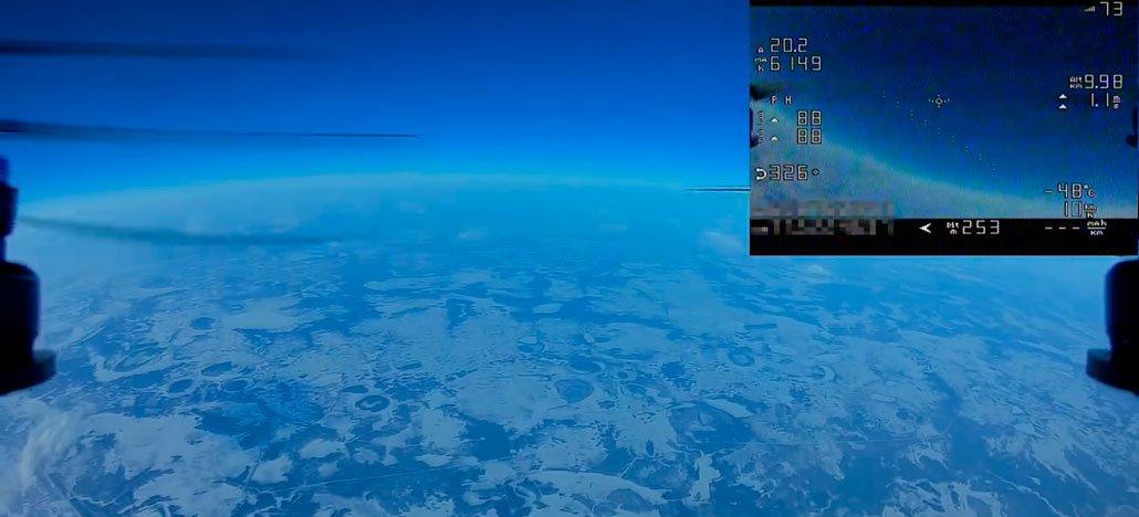 روسية تصنع طائرة بدون طيار للسباق على ارتفاع يزيد عن 10000 متر 1