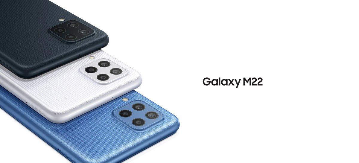 سامسونج تعلن عن هاتف ذكي متوسط المدى Galaxy M22 ببطارية 5000 مللي أمبير 1
