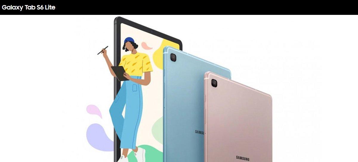 سامسونج Galaxy يحتوي Tab S6 Lite على شاشة 10.4 بوصة وبطارية 7.040 مللي أمبير في الساعة 1
