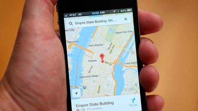 ستعرض خرائط Google أماكن وقوف السيارات في الوجهات 1