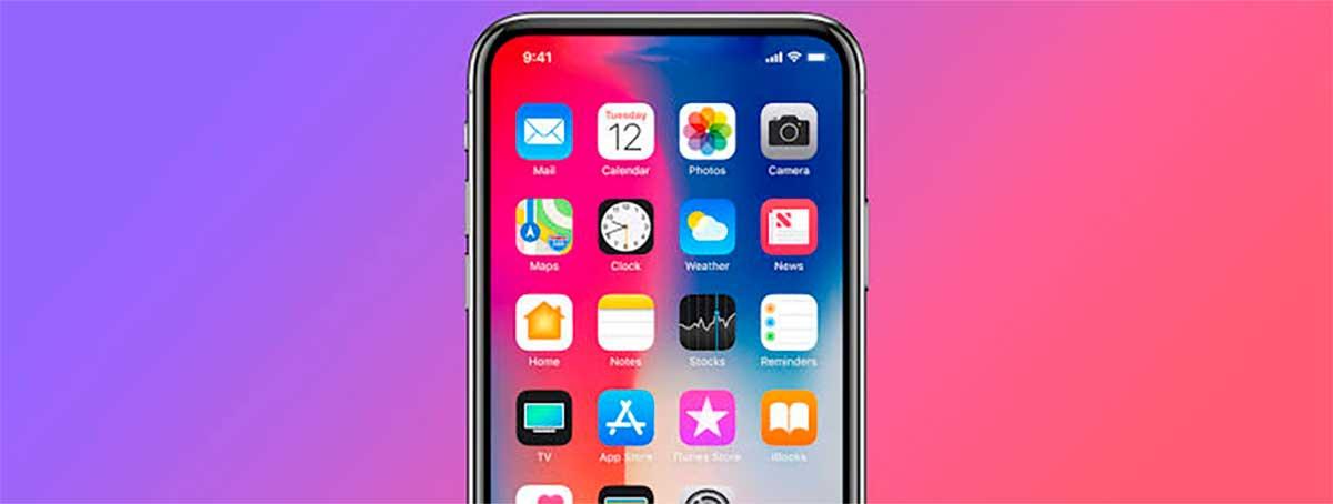 سيأتي iPhone 2020 باتصال 5G وكاميرا أسفل الشاشة - بدون شق 1
