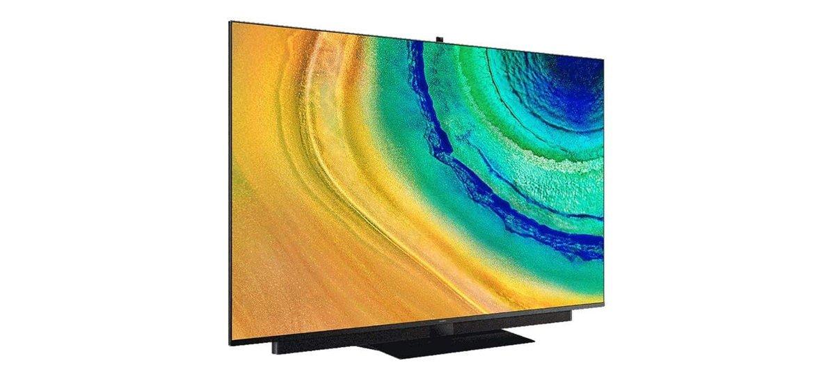 سيحتوي تلفزيون OLED الأول من Huawei على 65 بوصة و 14 مكبر صوت وكاميرا قابلة للسحب 1