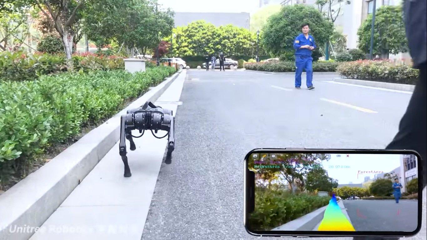 """شركة الروبوتات الصينية يونيتري تطلق A1 ، كلب آلي بسعر """"معقول"""" 2"""