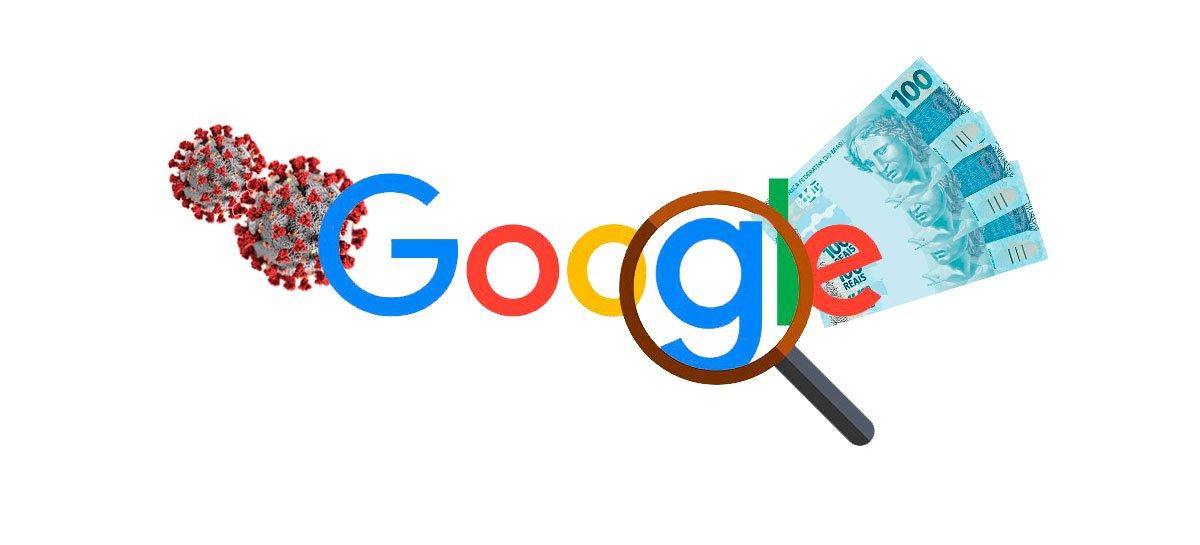 """كان """"Coronavirus"""" و """"المساعدة في حالات الطوارئ"""" أكثر العبارات التي بحث عنها البرازيليون على Google في عام 2020 1"""