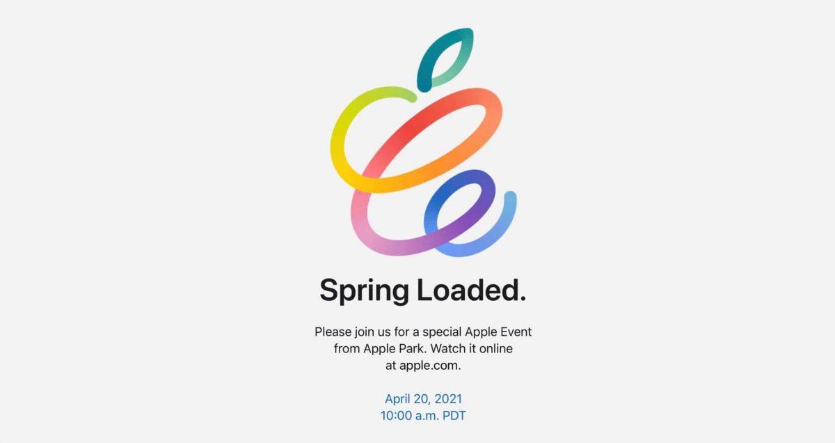 لدينا بالفعل تاريخ لحدث Spring Loaded القادم من Apple! 1