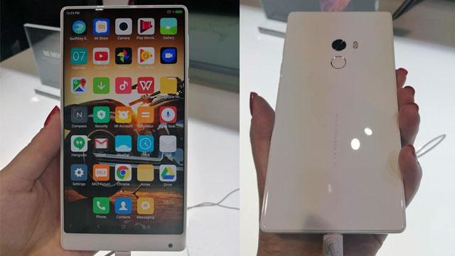 من المتوقع أن تصدر Xiaomi نسخة بيضاء من Mi Mix قريبًا 1