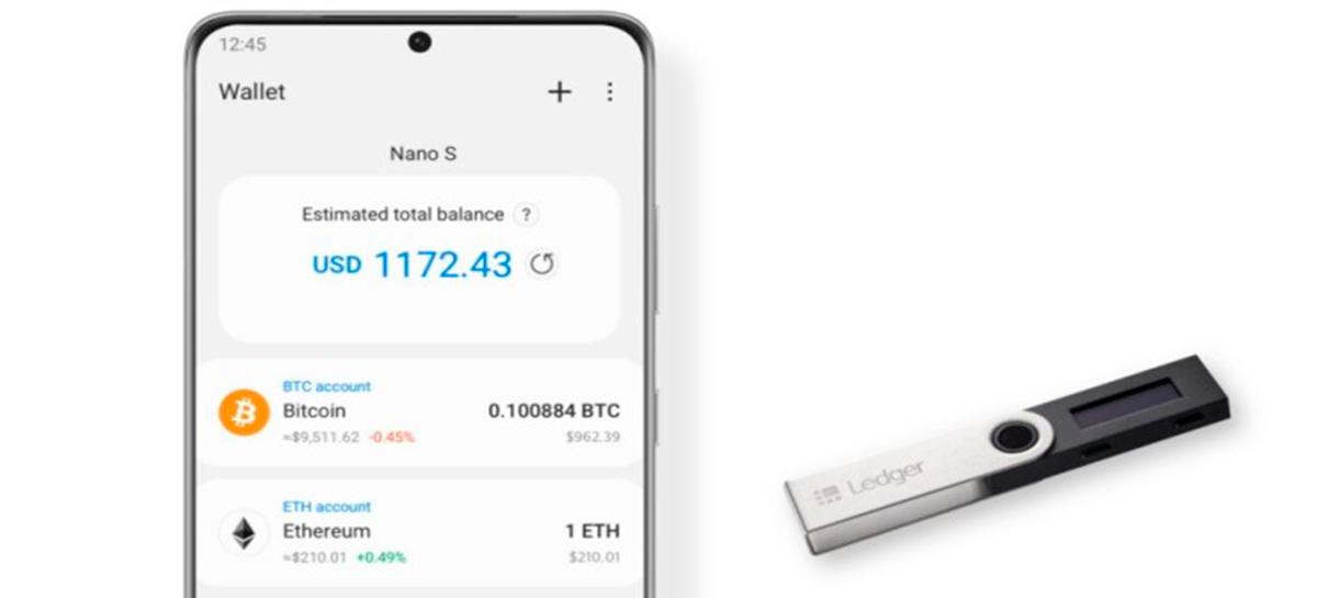 هواتف سامسونج الذكية Galaxy يمكن الآن إدارة العملات المشفرة 1