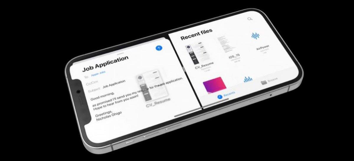 يتميز مفهوم iOS 15 بتقسيم الشاشة وأدوات قفل الشاشة والمزيد 1