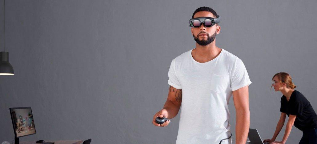 يتم تخزين نماذج نظارات الواقع المعزز Magic Leap One في خزائن 1