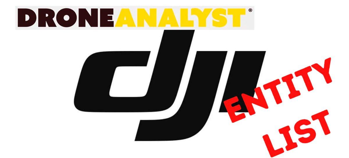 يثير DroneAnalyst التأثيرات الرئيسية على DJI بعد كتل التجارة 1