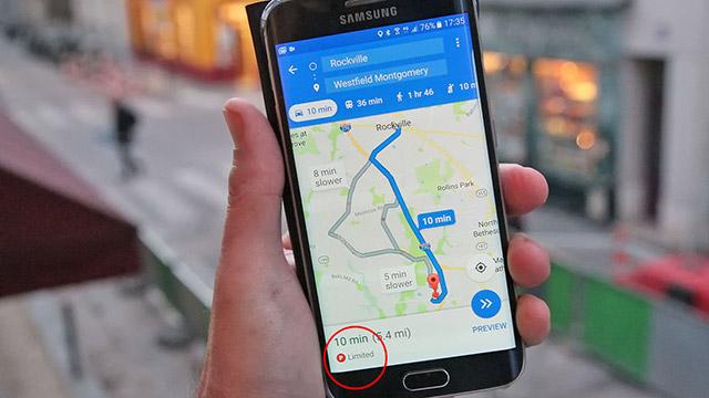 يجب أن تخبرك خرائط Google بمكان الوقوف قريبًا ، وما إذا كان ذلك سيكون صعبًا أيضًا. 1