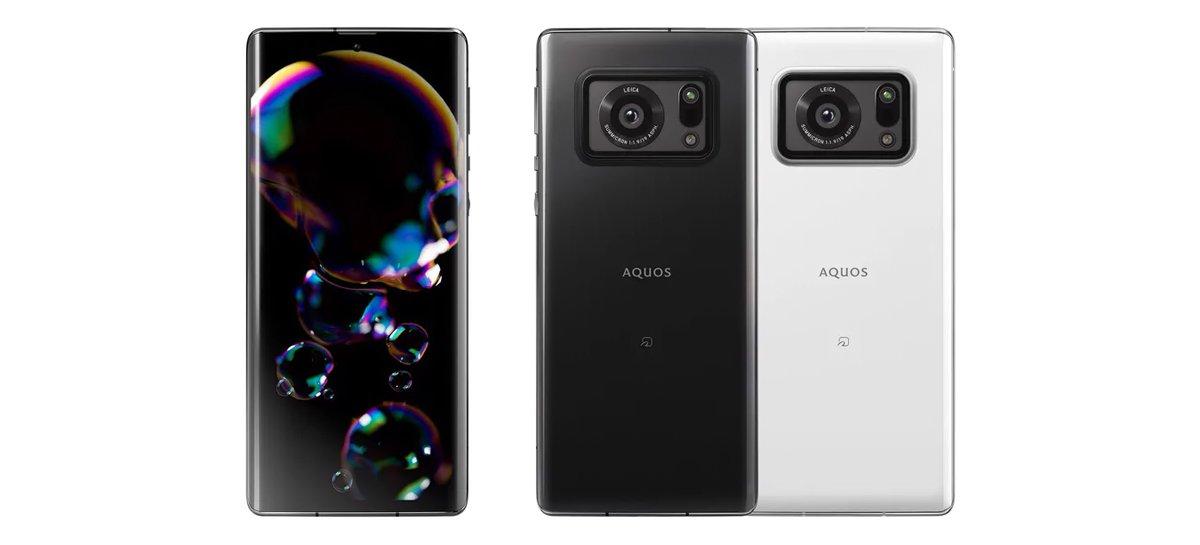يحتوي هاتف شارب اكوس R6 الذكي على شاشة 240 هرتز وكاميرا حساس 1 بوصة 1