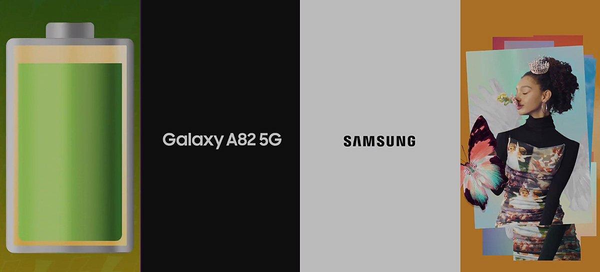 يشير تسرب الفيديو الترويجي إلى إطلاق Samsung Galaxy A82 5G قريب 1