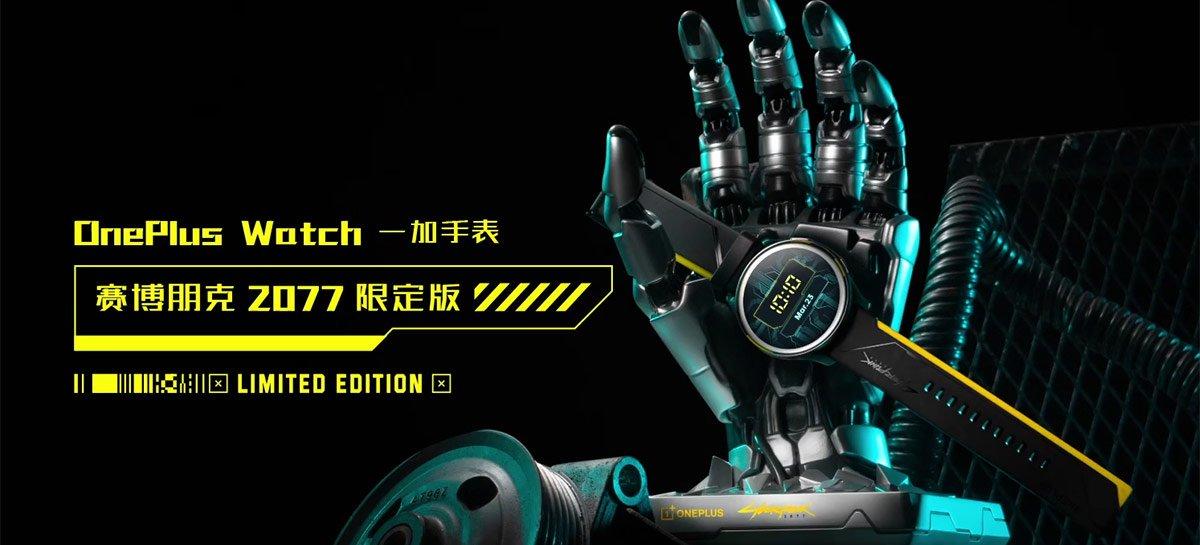 يصل إصدار Cyberpunk 2077 من OnePlus Watch في 27 مايو 1