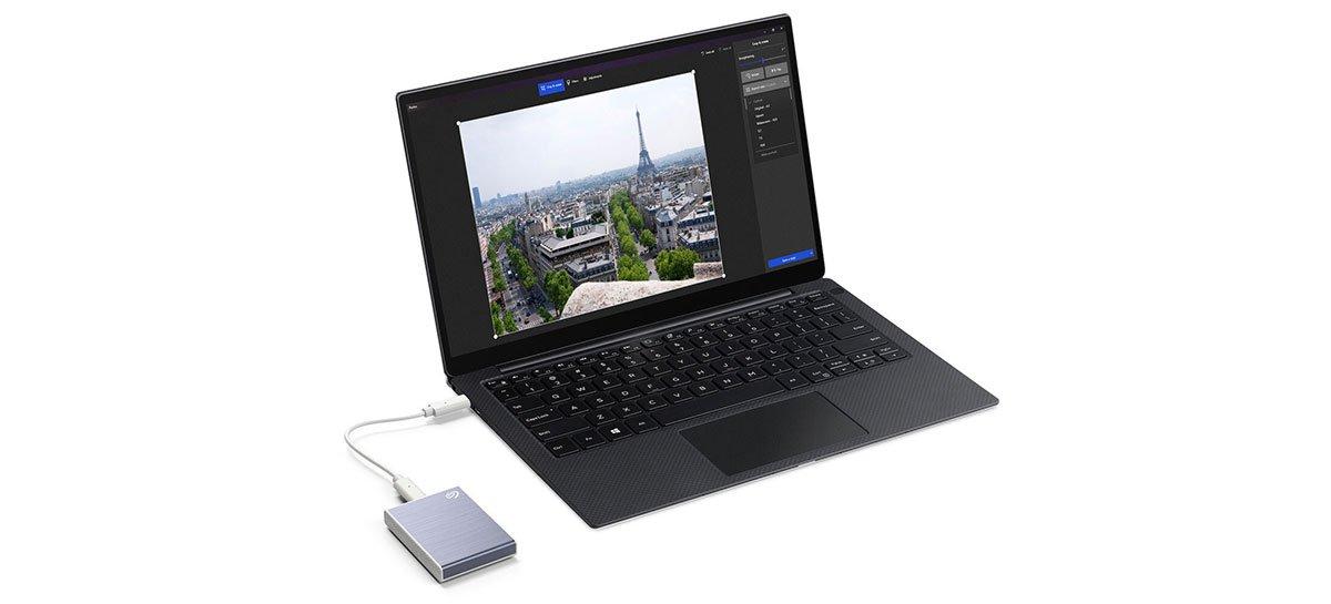 يصل SSD الخارجي Seagate One Touch بسرعات تصل إلى 1030 ميجابايت / ثانية 1