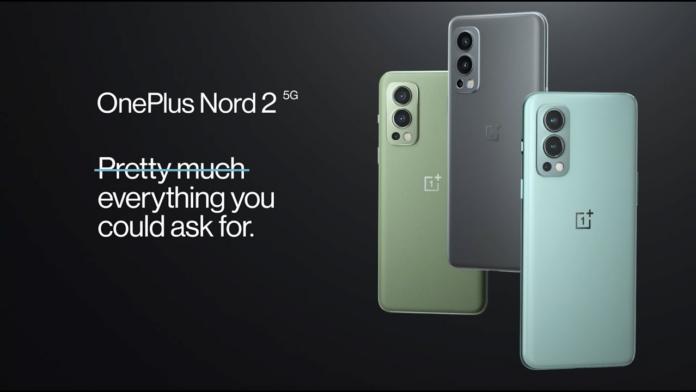 يلتقط OnePlus Nord 2 5G تحديث OxygenOS A.10 1