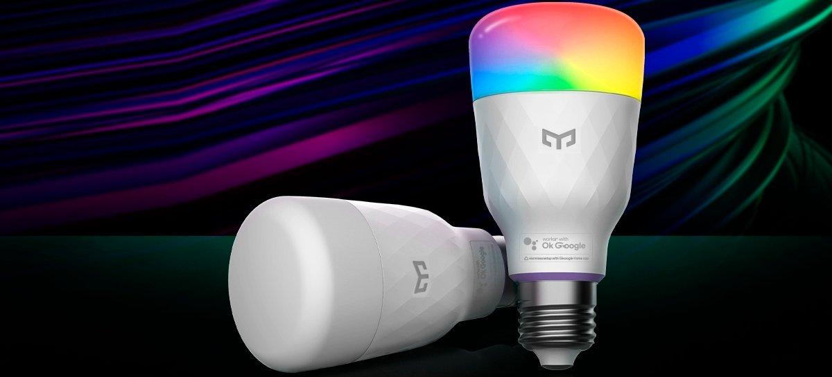 يمكن التحكم بالصوت Yeelight Smart LED Bulb M2 عبر الإعداد السلس لـ Google Home 1