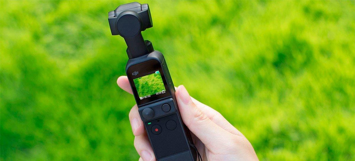 يوفر تحديث DJI Pocket 2 فيديو HDR ومراقبة الصوت والمزيد من الوظائف 1