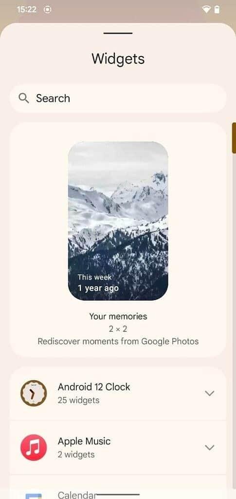 وصول صور Google المبتكرة