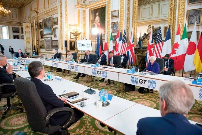 يحدد G7 معدل الضريبة لمعاملات العملة المشفرة 2
