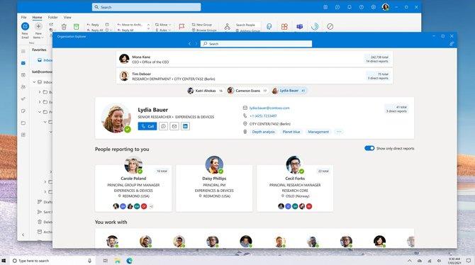 تكشف Microsoft النقاب عن صورة تطبيق Outlook جديدة لـ Windows 10