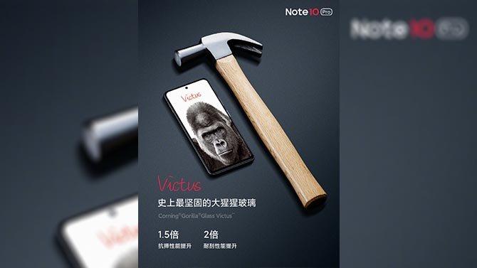 ريدمي Note 10 Pro 5G يخضع لاختبار المتانة على الفيديو الجديد 2
