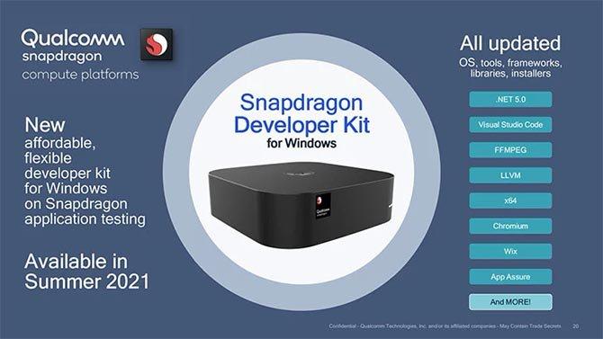 تتعاون Microsoft و Qualcomm لإنشاء Snapdragon Dev Kit لـ Windows 2