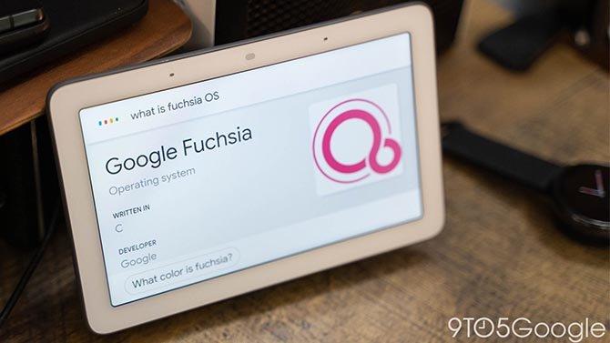 أطلقت Google نظام Fuchsia OS ، نظام التشغيل الجديد لـ Nest Hub 2