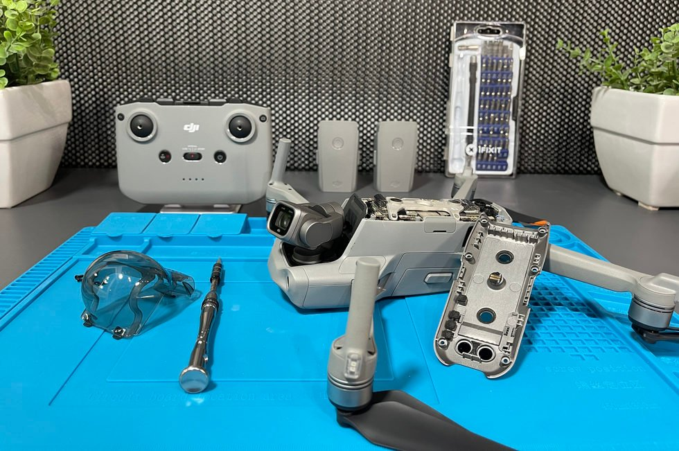 تم إصلاح DJI Air 2S Drone BROKEN - راجع العملية والأسئلة والاختبارات 3