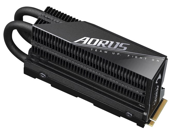 تعلن شركة Gigabyte عن إصدار AORUS Gen4 7000s Premium SSD بسرعات تصل إلى 7000 ميجابايت / ثانية