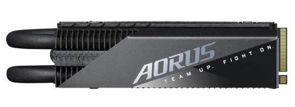 تعلن شركة Gigabyte عن إصدار AORUS Gen4 7000s Premium SSD بسرعات تصل إلى 7000 ميجابايت / ثانية 3