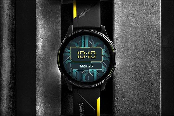 يصل إصدار Cyberpunk 2077 من OnePlus Watch في 27 مايو 2