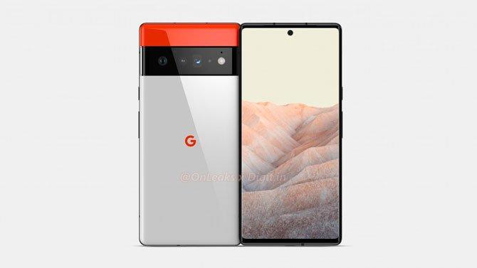 يُظهر Renders تصميم Google Pixel 6 و Pixel 6 Pro 2