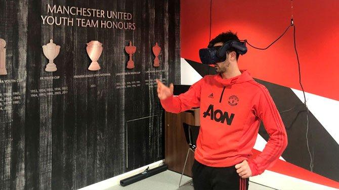 بدأ Grêmio في استخدام نظارات الواقع الافتراضي في التدريب 2